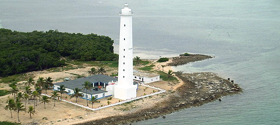 Punta Maternillos Lighthouse Cayo Sabinal