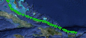 Bahamas Channel Jardines del Rey Shipping