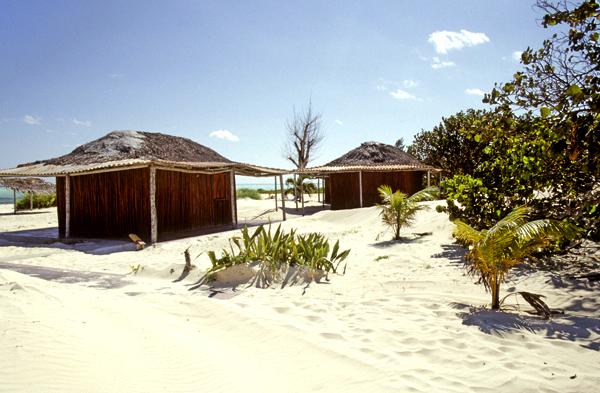 Cabins Punta Piedra on Cayo Sabinal