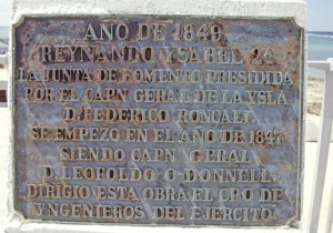 Plaque Cayo Sabinal Fort